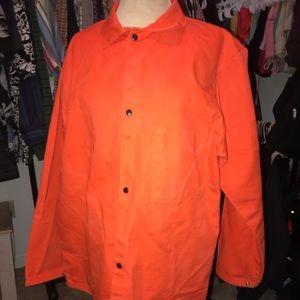 ORANGE, flame resistance jacket